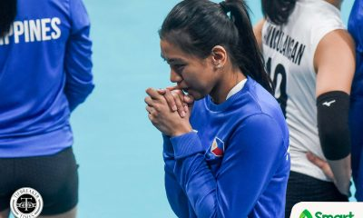 Tiebreaker Times Alyssa Valdez suffers from stomach illness vs Indonesia 2019 SEA Games News Volleyball  Alyssa Valdez Aby Marano 2019 SEA Games - Volleyball 2019 SEA Games