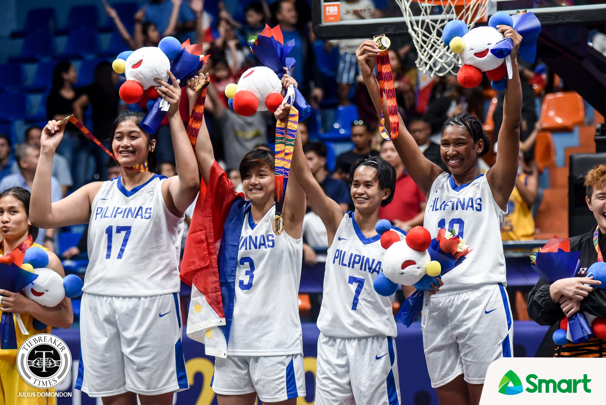 Tiebreaker Times SEA Games gold was not just for country, says Janine Pontejos 2019 SEA Games 3x3 Basketball Gilas Pilipinas News  Janine Pontejos Gilas Pilipinas Women Dante Alinsunurin 2019 SEA Games - 3x3 Basketball 2019 SEA Games