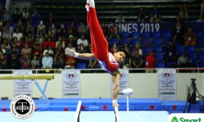 Tiebreaker Times Caloy Yulo clinches SEA Games parallel bars silver 2019 SEA Games Gymnastics News  Caloy Yulo 2019 SEA Games - Gymnastics 2019 SEA Games