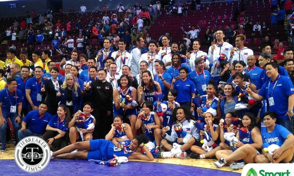 Tiebreaker Times Gilas Women's maiden SEAG gold start of bigger things, says Tim Cone 2019 SEA Games Basketball Gilas Pilipinas News  Tim Cone Gilas Pilipinas Women 2019 SEA Games - Basketball 2019 SEA Games