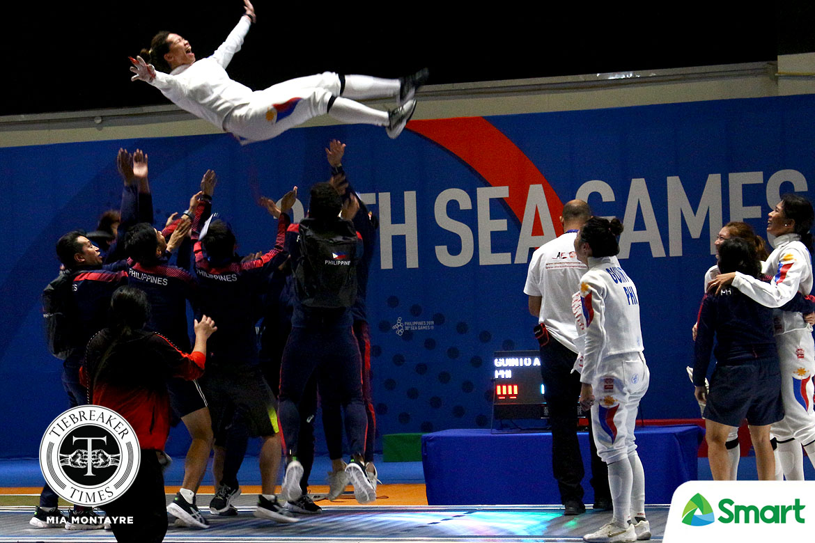 Tiebreaker Times Hanniel Abella left a stable job for SEAG. It was worth it in the end 2019 SEA Games Fencing News  Hanniel Abella 2019 SEA Games - Fencing 2019 SEA Games