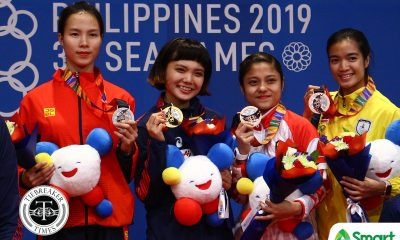 Tiebreaker Times Junna Tsukii feels coach 'bullied' her for being Fil-Jap 2019 SEA Games Karate News  Junna Tsukii 2019 SEA Games - Karate 2019 SEA Games