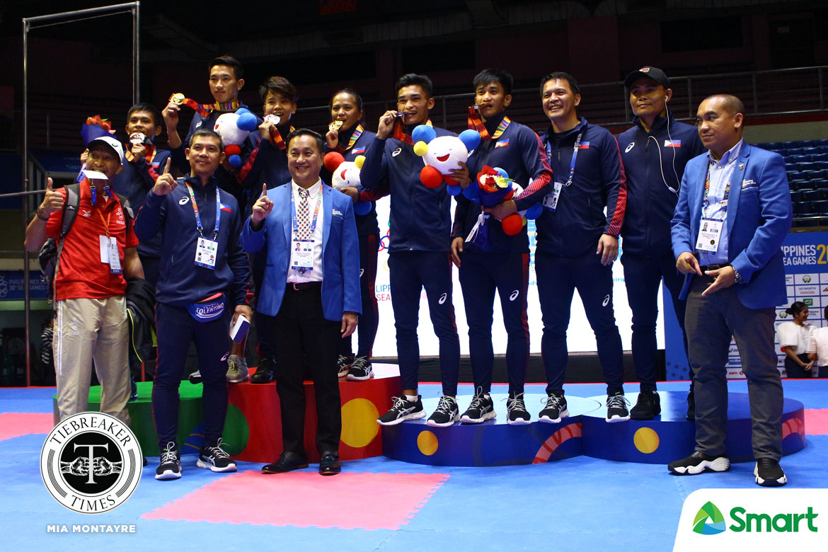Tiebreaker Times Mark Sangiao will never get tired of producing kings and champions 2019 SEA Games Mixed Martial Arts ONE Championship  Team Lakay Mark Sangiao 2019 SEA Games - Kickboxing 2019 SEA Games