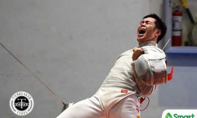 Tiebreaker Times CJ Concepcion more confident after almost breaking Thanh An Vu's SEAG streak 2019 SEA Games Fencing News  CJ Concepcion 2019 SEA Games - Fencing 2019 SEA Games