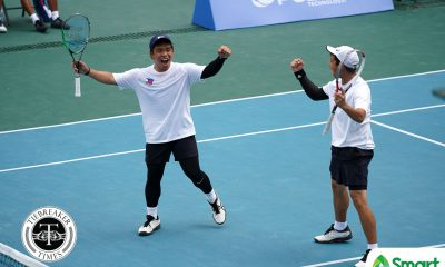 Tiebreaker Times PH's Talatayod-Maduriao stuns Thailand, completes SEAG soft tennis sweep 2019 SEA Games News Tennis  Noel Damian Jr. Mikoff Maduriao Mark Alcoseba Joseph Arcilla Dheo Talatayod 2019 SEA Games - Soft Tennis 2019 SEA Games