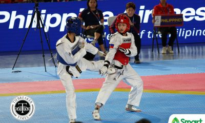 Tiebreaker Times Pauline Lopez gains second SEAG -57kg gold as Timor Leste wins first medal 2019 SEA Games News Taekwondo  Pauline Lopez 2019 SEA Games - Taekwondo 2019 SEA Games