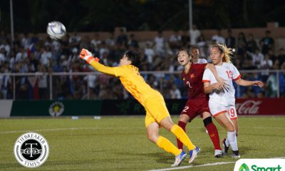 Tiebreaker Times PWNFT succumb to Vietnam, drop to SEAG bronze medal match 2019 SEA Games Football News Philippine Malditas  Vietnam (Football) Thai Thi Thao Philippine Women's National Football Team Nguyen Thi Tuyet Dung Let Dimzon Inna Palacios 2019 SEA Games - Football 2019 SEA Games