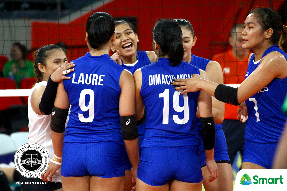 Tiebreaker Times Philippines falters to T4-led Vietnam in SEA Games Volleyball opener 2019 SEA Games News Volleyball  Vietnam (Volleyball) Tran Thi Thanh Thuy Thi Xuan Nguyen Shaq delos Santos Philippine Women's National Volleyball Team Majoy Baron Maddie Madayag Jovelyn Gonzaga Jia Morado Ces Molina Bui Thi NGa Alyssa Valdez