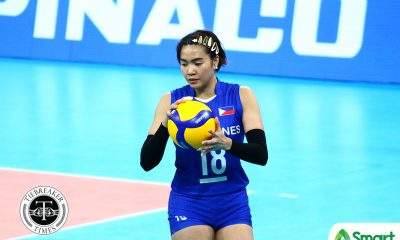 Tiebreaker Times PWNVT seek to leave lasting imprint on Thai legends, says Aby Maraño 2019 SEA Games News Volleyball  Philippine Women's National Volleyball Team Aby Marano 2019 SEA Games - Volleyball 2019 SEA Games