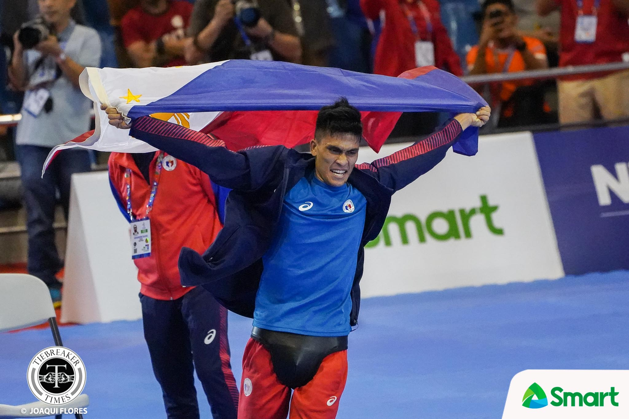 Tiebreaker Times Philippines sweeps SEA Games Men's Arnis events 2019 SEA Games Arnis News  Villardo Cunamay Philippine Men's National Arnis Team Niño Mark Talledo Mike Bañares Dexler Bolambao 2019 SEA Games - Arnis 2019 SEA Games
