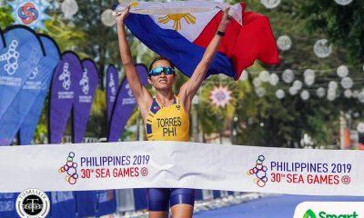 Tiebreaker Times Monica Torres rules SEA Games Duathlon 2019 SEA Games News Triathlon  Monica Torres Joey De Los Reyes Jeisei Sabado Jarwin Banatao 2019 SEA Games - Triathlon 2019 SEA Games