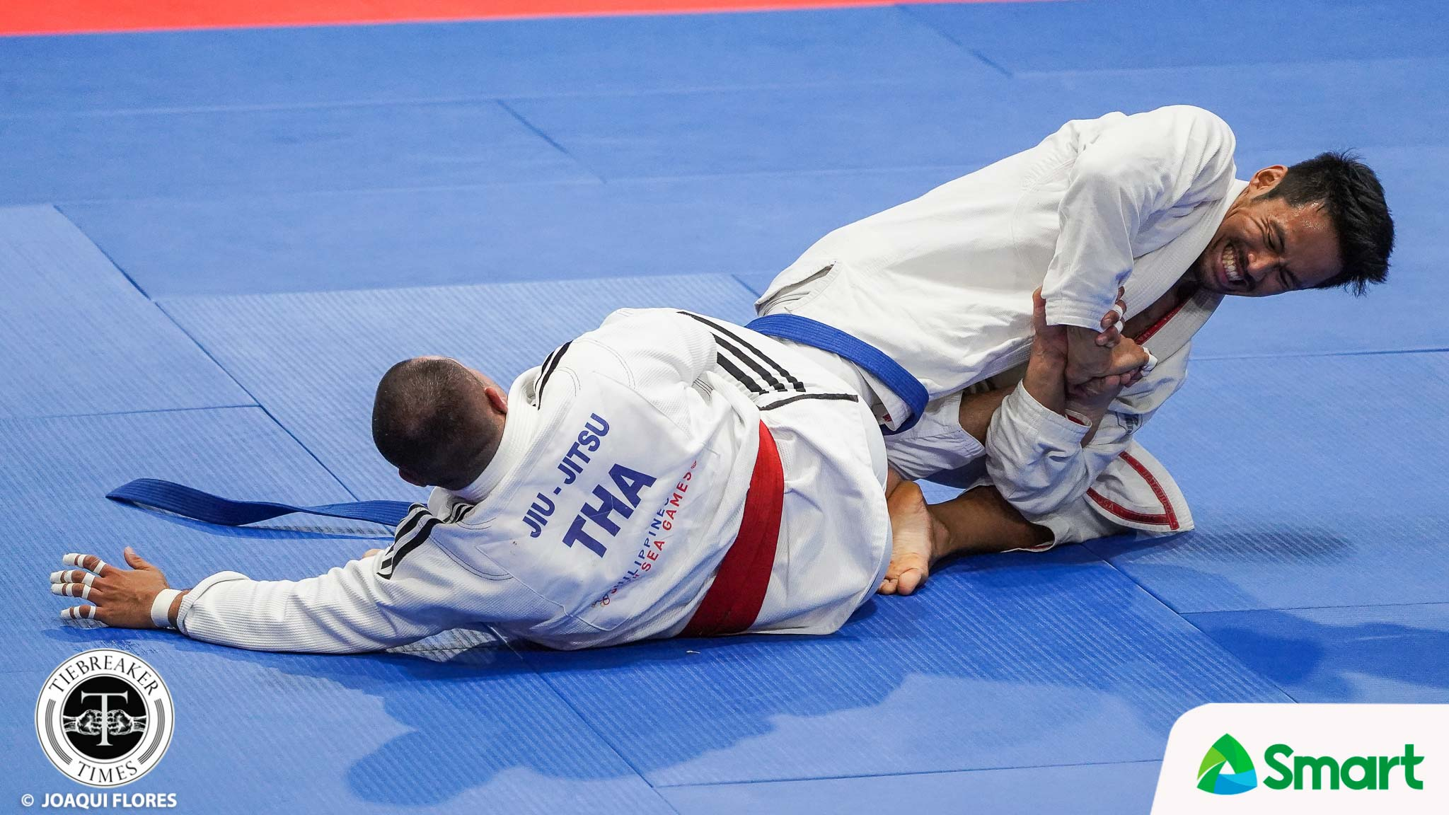 Tiebreaker Times Dean Roxas submits two foes, takes SEAG 85kg jiu jitsu crown 2019 SEA Games Brazilian Jiu Jitsu News  Mark Lim Kaila Napolis Dean Roxas 2019 SEA Games - Jiu Jitsu 2019 SEA Games