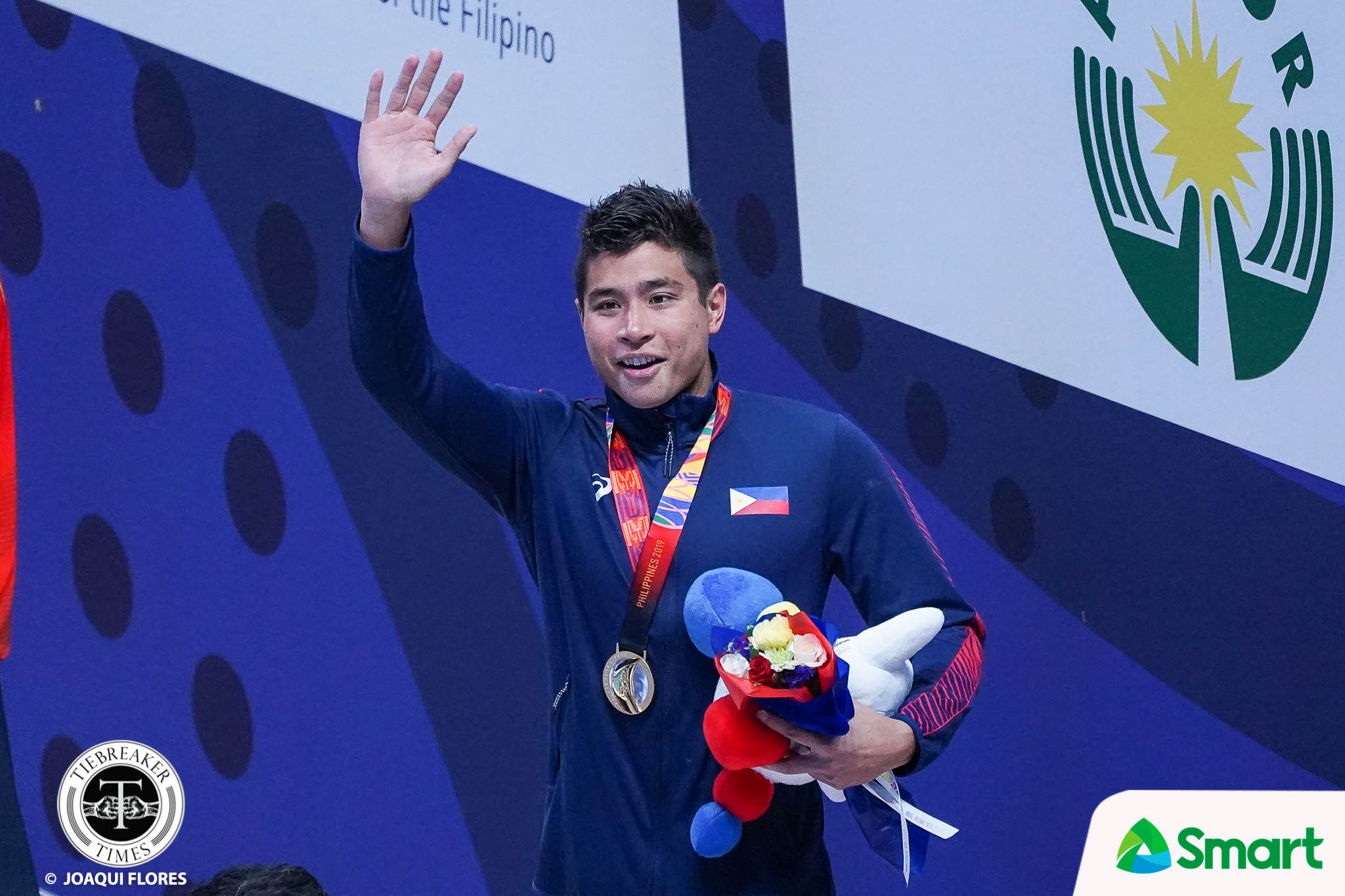Tiebreaker Times Wild crowd willed James Deiparine to end PH's SEAG swimming drought 2019 SEA Games News Swimming  James Deiparine 2019 SEA Games - Swimming 2019 SEA Games