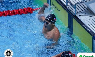 Tiebreaker Times Deiparine ends Philippines' 10-year gold drought in SEAG swimming 2019 SEA Games News Swimming  Thanh Bao Pham Remedy Rule Jing Wen Quah James Deiparine 2019 SEA Games - Swimming 2019 SEA Games
