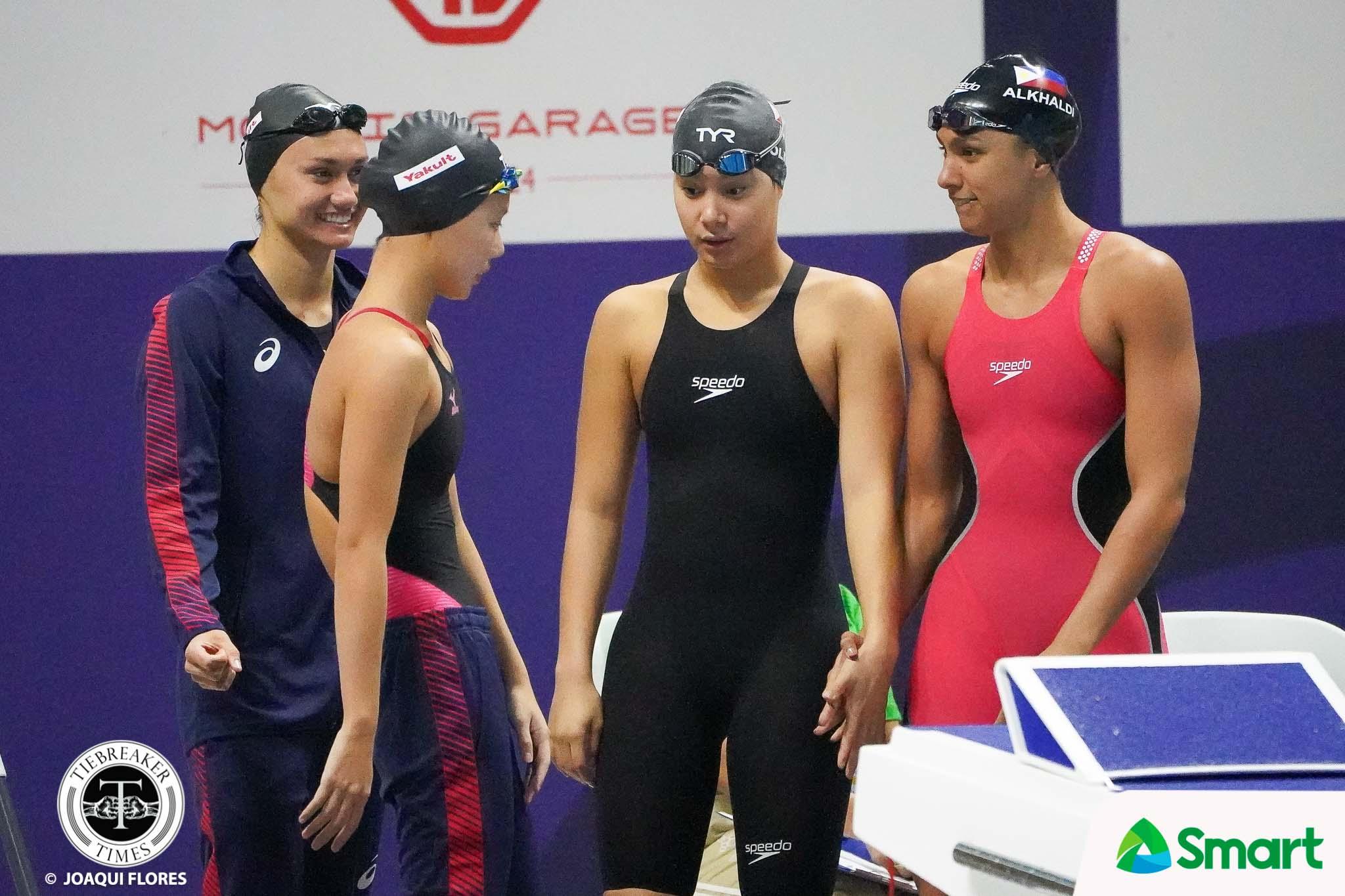 Tiebreaker Times Alkhaldi sets two PH records in SEAG swimming 2019 SEA Games News Swimming  Xiandi Chua Remedy Rule Nicole Oliva Jasmine Alkhaldi Chloe Isleta 2019 SEA Games - Swimming 2019 SEA Games