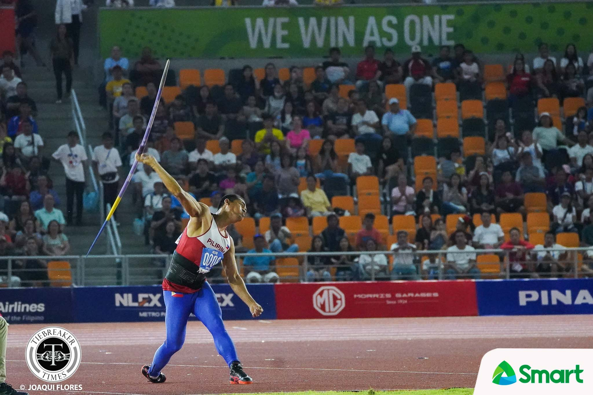 Tiebreaker Times Melvin Calano nails gold in SEAG javelin throw 2019 SEA Games News Track & Field  Melvin Calano 2019 SEA Games - Athletics 2019 SEA Games