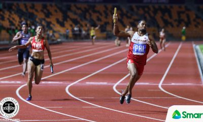 Tiebreaker Times Eric Cray finds redemption, leads 4x100m team to SEAG gold 2019 SEA Games News Track & Field  Kristina Knott Eric Cray Eloiza Luzon Anfernee Lopena 2019 SEA Games - Athletics 2019 SEA Games