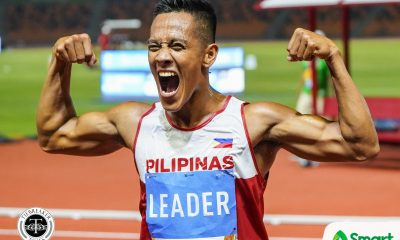 Tiebreaker Times Aries Toledo remains as SEAG's 'Man of Steel' 2019 SEA Games News Track & Field  Van Sui Bui Janry Ubas aries toledo 2019 SEA Games - Athletics 2019 SEA Games