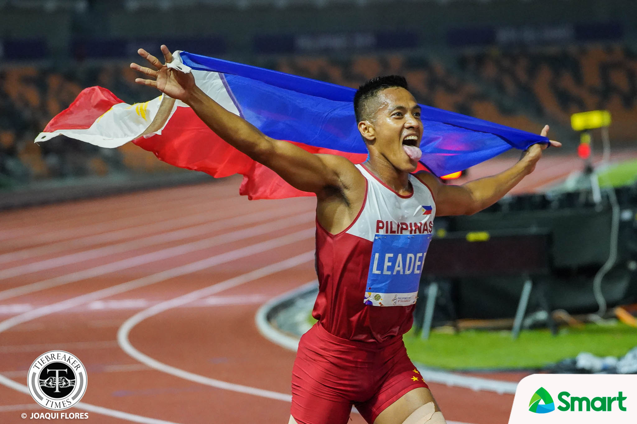 Tiebreaker Times SEAG 'Superman' Toledo found added strength in 'niyerbosa' mom, pregnant wife 2019 SEA Games News Track & Field  aries toledo 2019 SEA Games - Athletics 2019 SEA Games