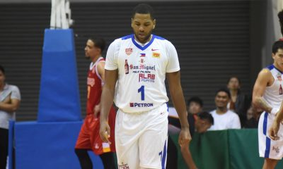 Tiebreaker Times Wyatt takes over as Alab stave off Singapore for first ABL home win ABL Alab Pilipinas Basketball News  Xavier Alexander Singapore Slingers Sam Deguara Nick Kick Marcus Elliott Khalif Wyatt Jordan Heading Jason Brickman Delvin Goh Anthony McClain abl season 10