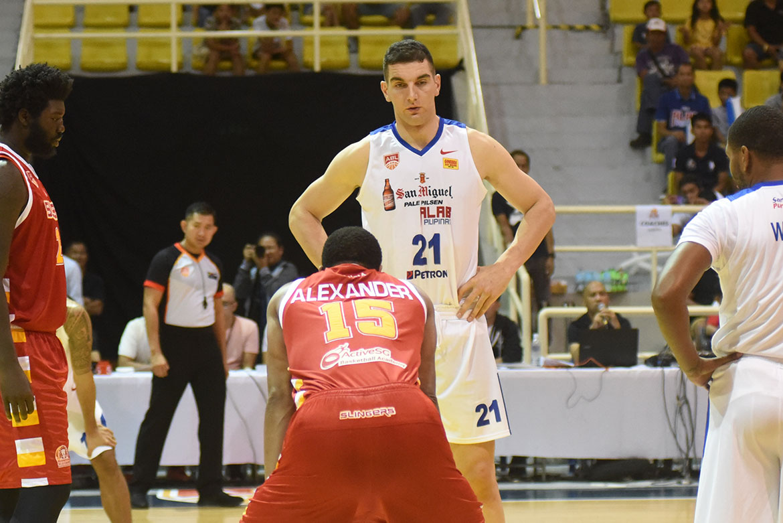 Tiebreaker Times Sam Deguara proud to represent PH after being bane to Alab ABL Alab Pilipinas Basketball News  Sam Deguara abl season 10