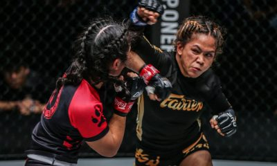 Tiebreaker Times Mixed emotions for Denice Zamboanga after impressive ONE debut Mixed Martial Arts News ONE Championship  ONE: Mark of Greatness Fairtex Denice Zamboanga