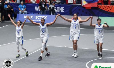 Tiebreaker Times Afril Bernardino saves best for last, lifts Gilas Women to SEA Games gold 2019 SEA Games 3x3 Basketball News  Thailand (Basketball) Janine Pontejos Jack Animam Clare Castro Afril Bernardino 2019 SEA Games - 3x3 Basketball 2019 SEA Games