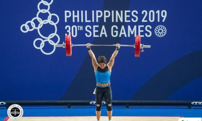 Tiebreaker Times Hidilyn Diaz finally cops first SEA Games gold 2019 SEA Games News Weightlifting  Hidilyn Diaz 2019 SEA Games - Weightlifting 2019 SEA Games