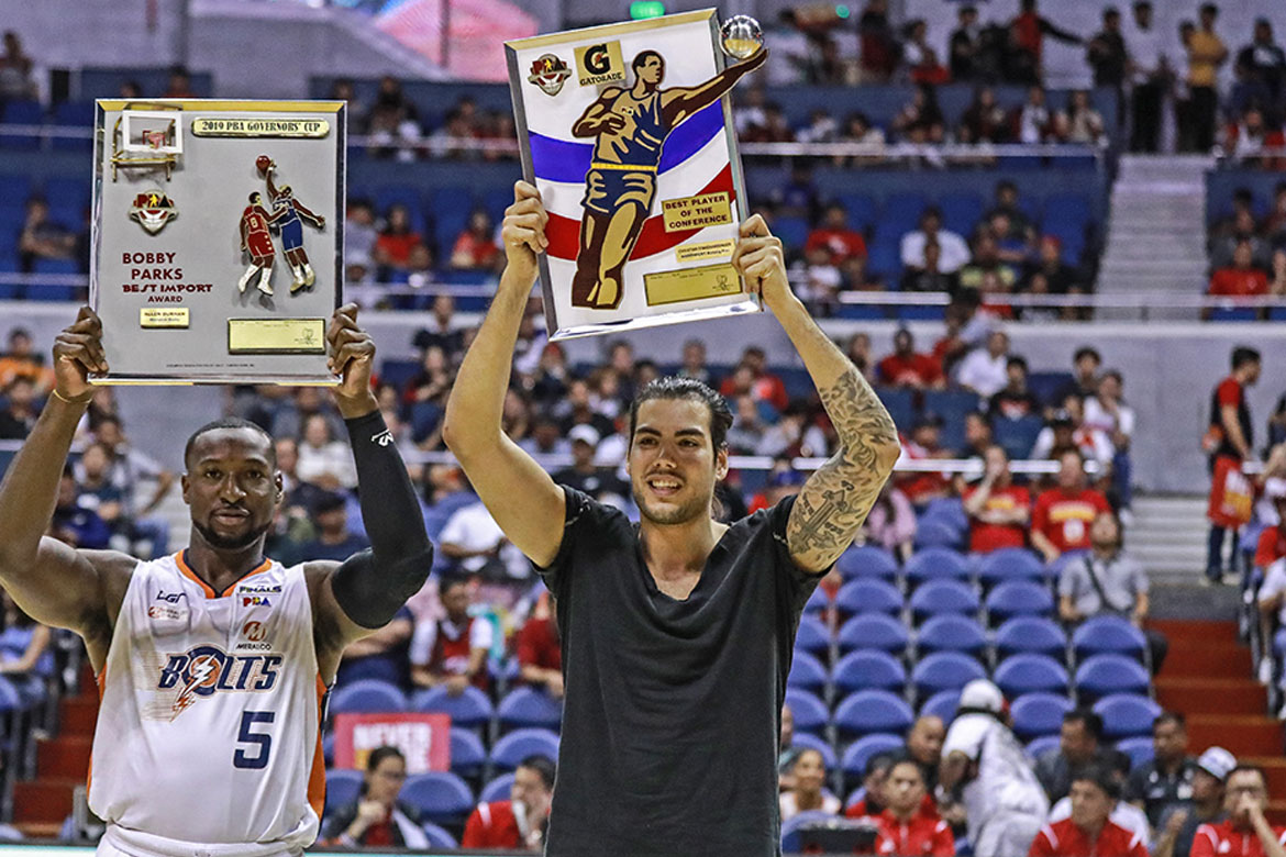 Tiebreaker Times Honored to be BPC, Standhardinger would exchange it for a championship Basketball News PBA  PBA Season 44 Northport Batang Pier Christian Standhardinger 2019 PBA Governors Cup