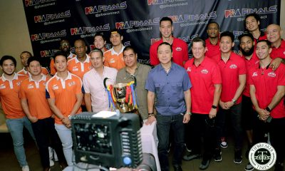 Tiebreaker Times Tim Cone feels Finals series vs Meralco will reach the limit Basketball News PBA  Tim Cone PBA Season 44 Norman Black Meralco Bolts Barangay Ginebra San Miguel 2019 PBA Governors Cup