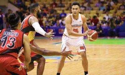 Tiebreaker Times Playing with 'bilas' Arwind Santos excites Russel Escoto Basketball News PBA  San Miguel Beermen Russel Escoto PBA Season 45