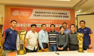Tiebreaker Times Philippines figure in tough draw for 2020 Asian Badminton Team Championships 2020 Badminton Asia Team Championships Badminton News  Ronald Magnaye Philippine Women's National Badminton Team Philippine Men's National Badminton Team Philippine Badminton Association Manny V. Pangilinan Ian Mendez Albee Benitez 2020 Badminton Asia Team Championships