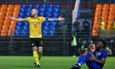 Tiebreaker Times Schrock strike propels Ceres past Port in AFC Champions League Football News PFL  Worawut Srisupa Takeshi Odawara Stephan Schrock Sergio Gustavo Arteaga Roland Muller Risto Vidakovic Port FC Ko Seulki Ceres-Negros FC Adisak Kraisorn 2020 AFC Champions League