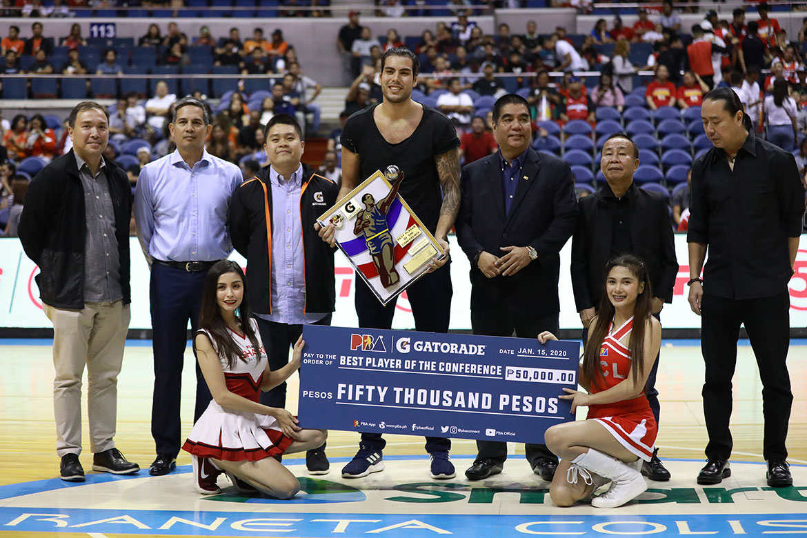 2020-pba-governors-cup-best-player-of-the-conference-christian-standhardinger Stats Don't Lie: A Glimpse of NorthPort's Bright Future Bandwagon Wire Basketball PBA  - philippine sports news