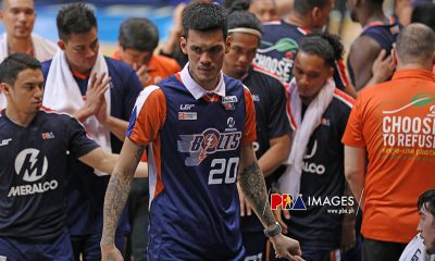 Tiebreaker Times Raymond Almazan vows to come back stronger than ever Basketball News PBA  Raymond Almazan PBA Season 44 Meralco Bolts 2019 PBA Governors Cup