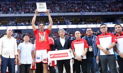 Tiebreaker Times Japeth Aguilar hailed as Governors' Cup Finals MVP Basketball News PBA  PBA Season 44 Japeth Aguilar Barangay Ginebra San Miguel 2019 PBA Governors Cup