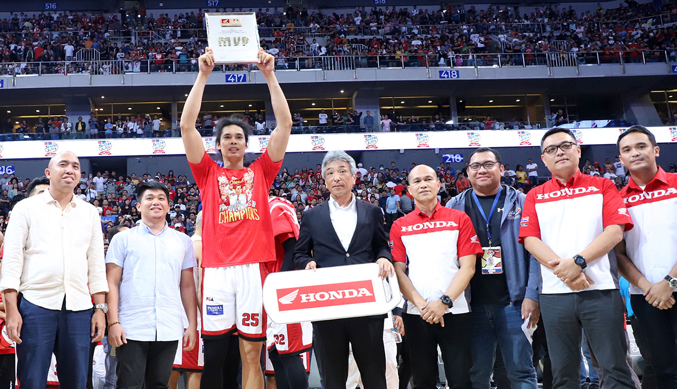 Tiebreaker Times With Slaughter out, Tenorio believes Japeth Aguilar will have an 'MVP Season' Basketball News PBA  PBA Season 45 la tneorio Japeth Aguilar Greg Slaughter Barangay Ginebra San Miguel