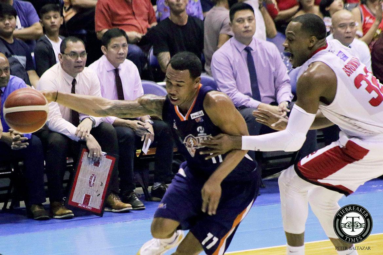 Tiebreaker Times Newsome hopes Meralco turns Finals series into a 'track meet' Basketball News PBA  PBA Season 44 Meralco Bolts Chris Newsome 2019 PBA Governors Cup