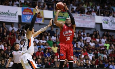 Tiebreaker Times Brownlee smashes Strothers record in Game Two loss Basketball News PBA  PBA Season 44 Lamont Strothers Justin Brownlee Barangay Ginebra San Miguel 2019 PBA Governors Cup
