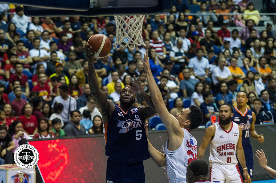 Tiebreaker Times Meralco needs to get over third quarter hump to get even, says Durham Basketball News PBA  PBA Season 44 Meralco Bolts Allen Durham 2019 PBA Governors Cup