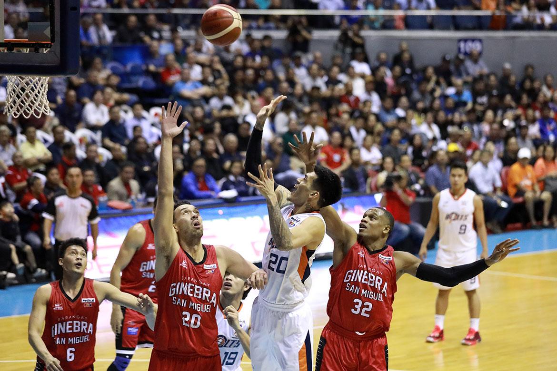 Tiebreaker Times Injured Raymond Almazan plans to finish Finals Basketball News PBA  Raymond Almazan PBA Season 44 Meralco Bolts 2019 PBA Governors Cup