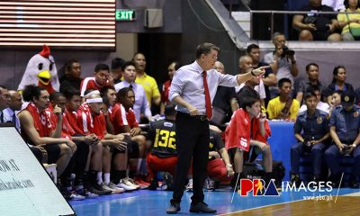 Tiebreaker Times Tim Cone remains wary as he has lost 3-1 lead before Basketball News PBA  Tim Cone PBA Season 44 Barangay Ginebra San Miguel 2019 PBA Governors Cup