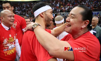 Tiebreaker Times Jared Dillinger glad to be on the other side of Ginebra-Meralco rivalry Basketball News PBA  PBA Season 44 Jared Dillinger Barangay Ginebra San Miguel 2019 PBA Governors Cup