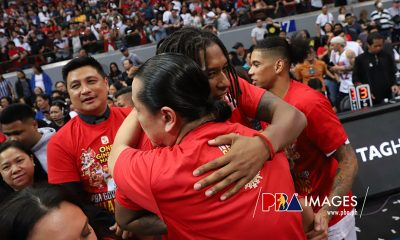Tiebreaker Times Joe Devance grateful to Tim Cone as he becomes 10-time champion Basketball News PBA  PBA Season 44 Joe Devance Barangay Ginebra San Miguel 2019 PBA Governors Cup