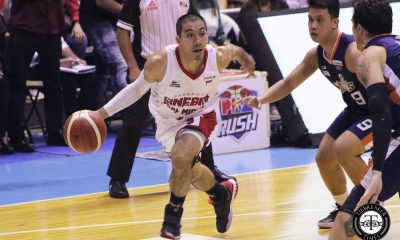 Tiebreaker Times LA Tenorio atones for early foul trouble in Game One Basketball News PBA  PBA Season 44 LA Tenorio Barangay Ginebra San Miguel 2019 PBA Governors Cup