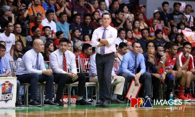 Tiebreaker Times Tim Cone looks to fix Ginebra defense heading into Game Three Basketball News PBA  Tim Cone PBA Season 44 Barangay Ginebra San Miguel 2019 PBA Governors Cup