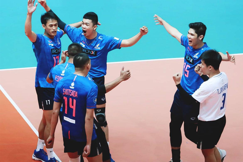 Tiebreaker Times Espejo announces arrival in Thailand, powers Visakha past Prince Finance News Volleyball  Visakha Volleyball Club Marck Espejo 2020 Volleyball Thailand League Season