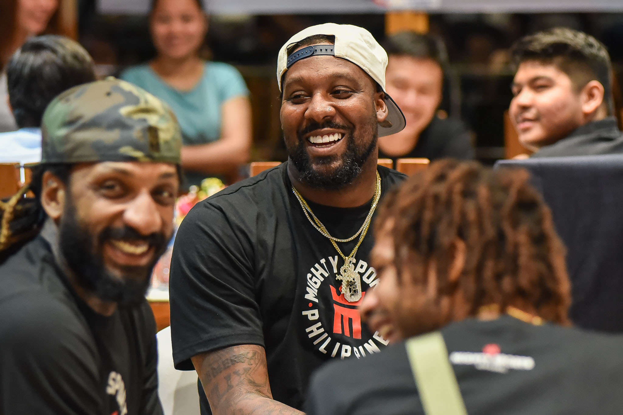 Tiebreaker Times Balkman can't wait to share court with 'brother' Blatche in Mighty Basketball News  Renaldo Balkman Mighty Sports Andray Blatche 2020 Dubai International Basketball Championship