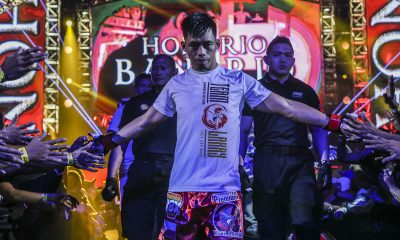 Tiebreaker Times Honorio Banario looks to replicate magic in return to featherweight Mixed Martial Arts News ONE Championship  Team Lakay ONE: King of the Jungle Honorio Banario