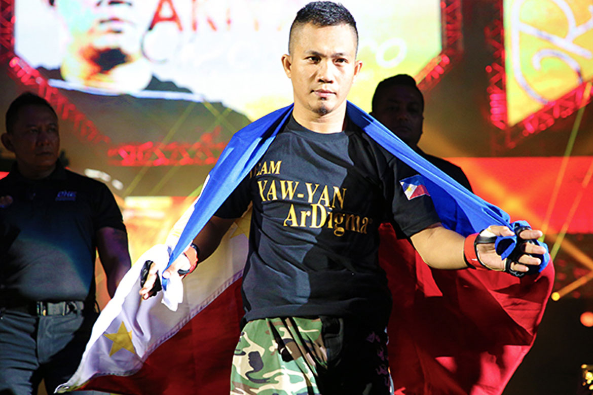 Tiebreaker Times Roel Rosauro banners Philippines in first ONE card of 2020 Mixed Martial Arts News ONE Championship  Yaw-Yan Ardigma Cebu Roel Rosauro ONE: A New Tomorrow